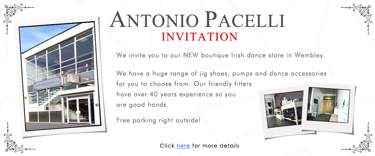New Irish Dance Shop