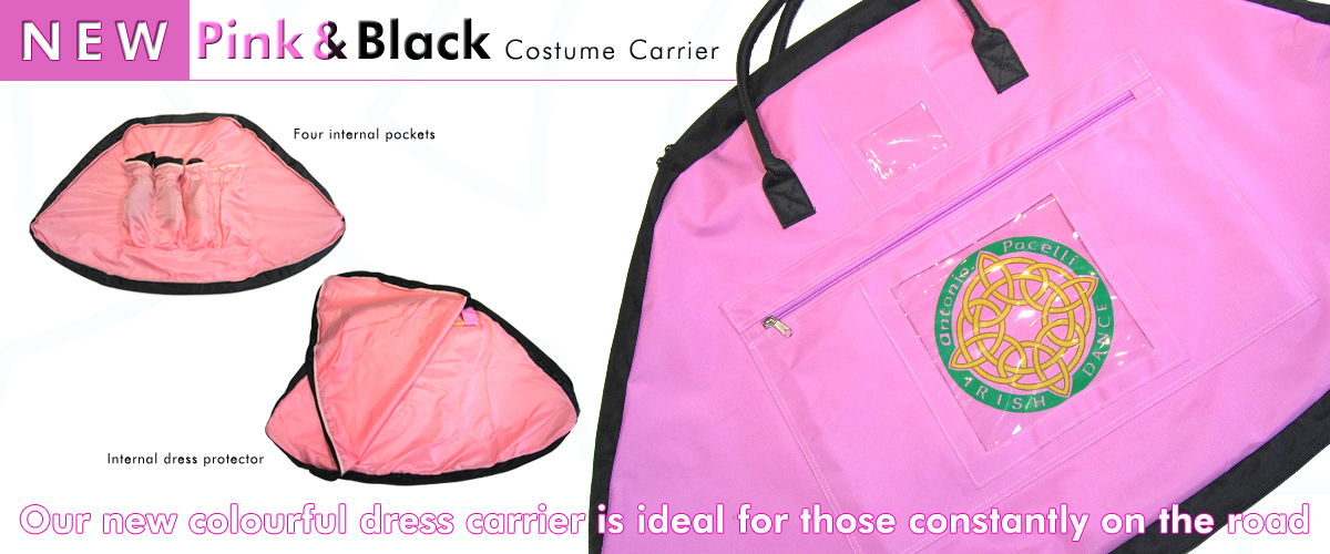 New Pink & Black Costume Carrier